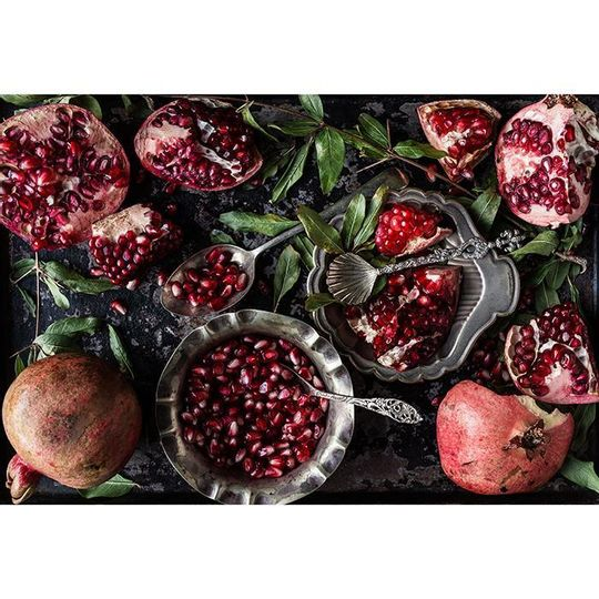 WS Placemats - Pomegranates in Baking Tray