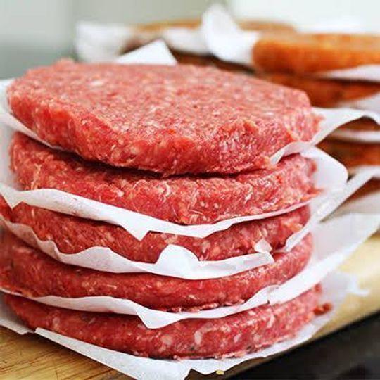 1kg hamburger patties (Beef)