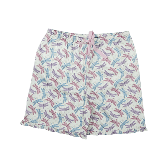 Girls Short Pants - Frill Dragonfly