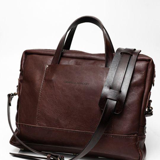 The Leather Messenger Bag