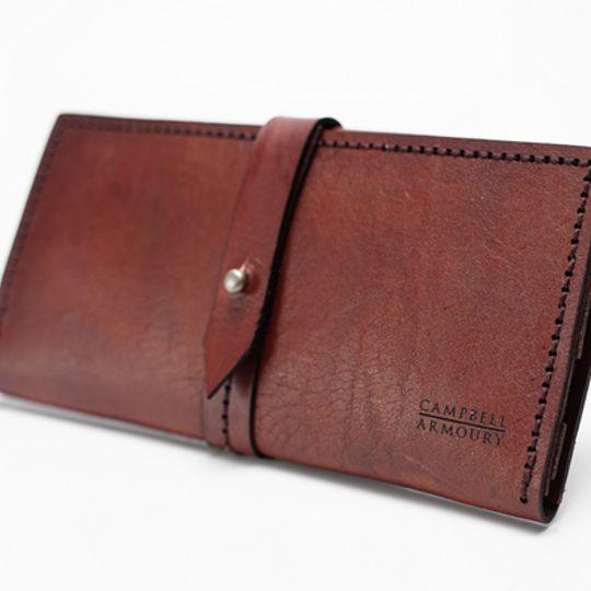 Ladies Wallet - Rust