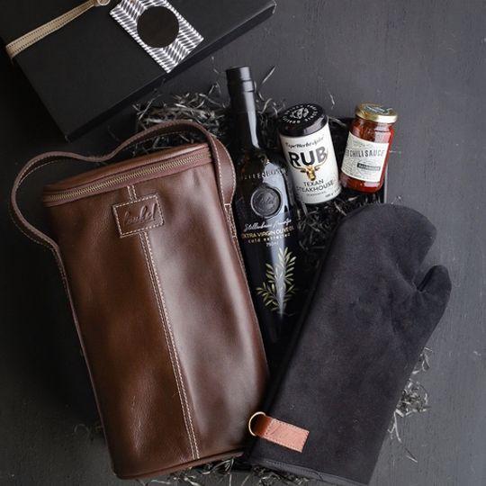 Luxury Leather Braai Gift Box