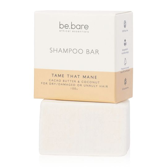 Be Bare Tame That Mane Shampoo Bar