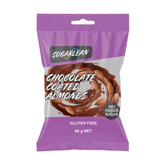 Sugarlean Chocolate Coated Almonds (60 g)