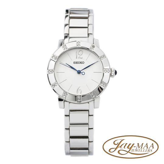 Seiko Stainless Steel Ladies Metal Strap Watch - SRZ453P1