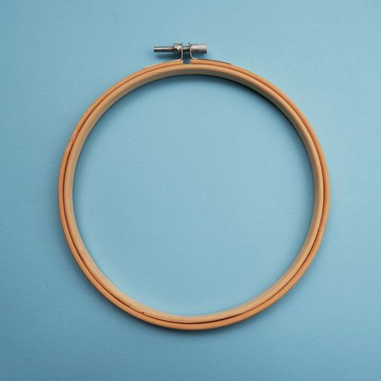 "6"" bamboo Embroidery hoop"