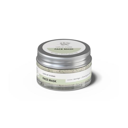 Face Mask - Moringa & French Green Clay