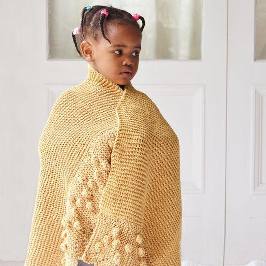 Bobble lace edge blankets – Eco Cotton – Baby