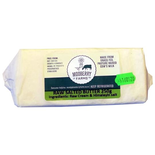 Raw Salted Butter (250g)