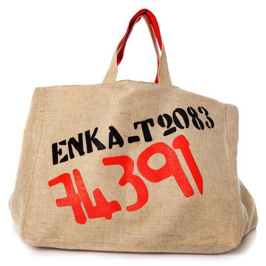 Enka red big big bag