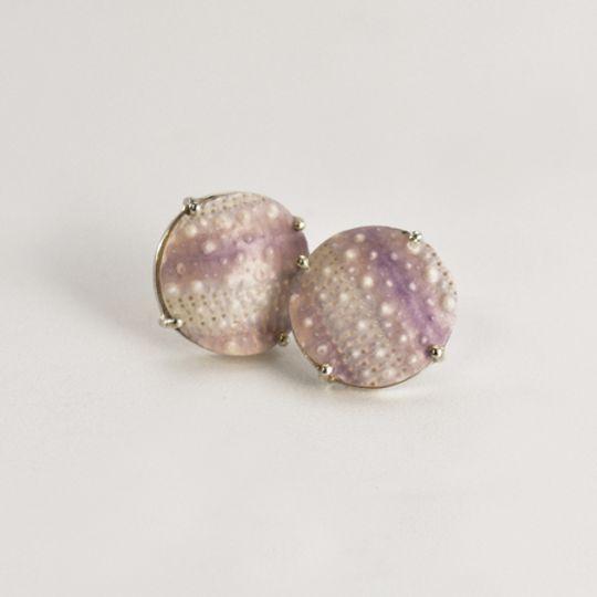 Lilac Sea Urchin Studs