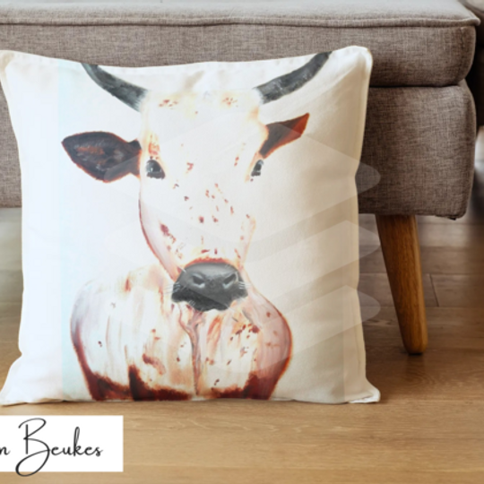 Brown Nguni | Original Cushion