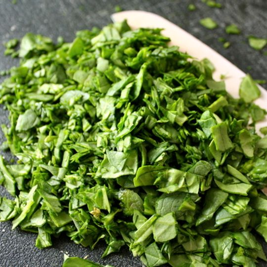 Chopped Organic Spinach
