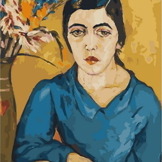 Irma Stern: Portrait of an Indian Woman