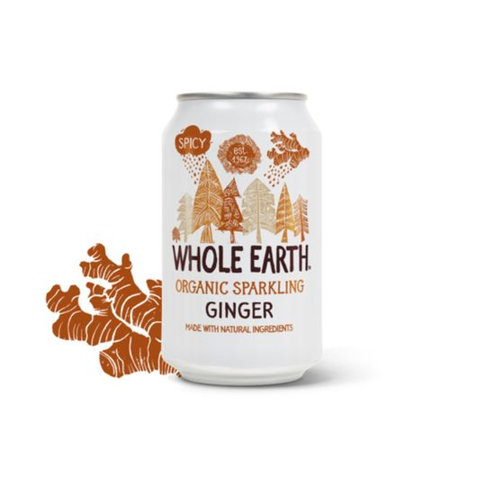 Whole Earth Organic Ginger Drink (330ml)