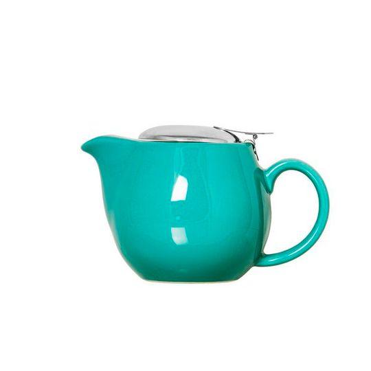 400ml Teal Gloss Finish Teapot