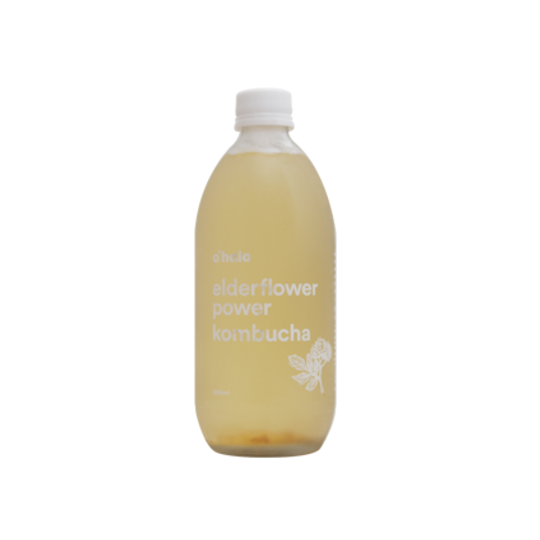 Elderflower Power kombucha (500ml)