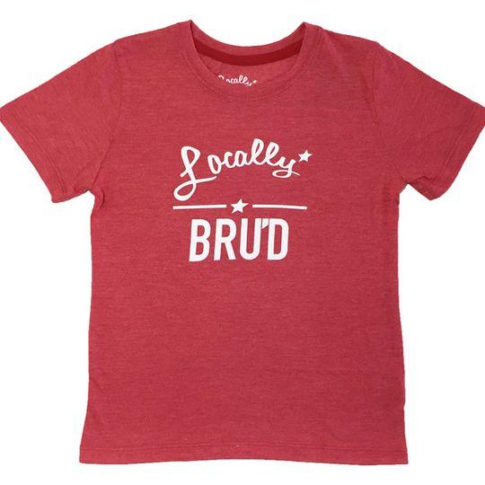 'Locally Bru'd' Kids Tee