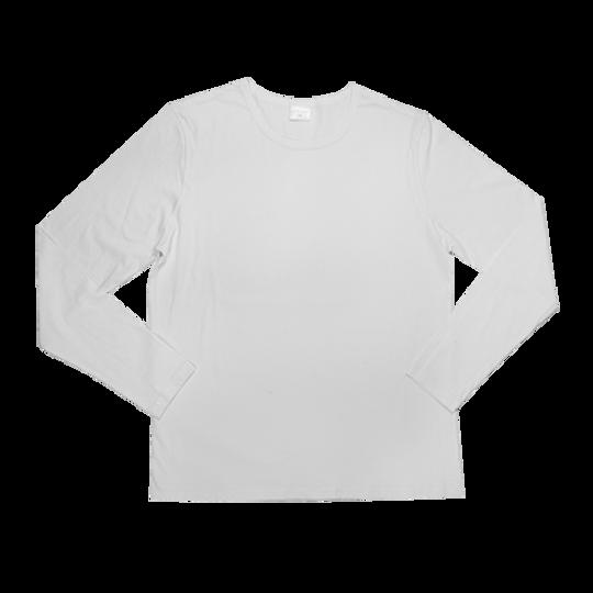 Mens Long Sleeve White
