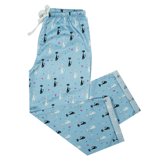 Girls Long Pants Cats