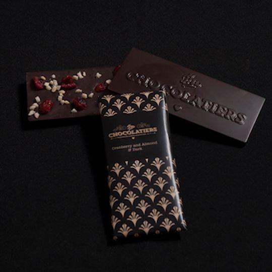 Cranberry, Almond & Dark Bar