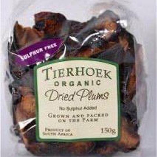 100g Tierhoek Fruit Cellar Dried Plums.