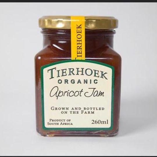 Tierhoek Organic Apricot Jam & Quince Jam.