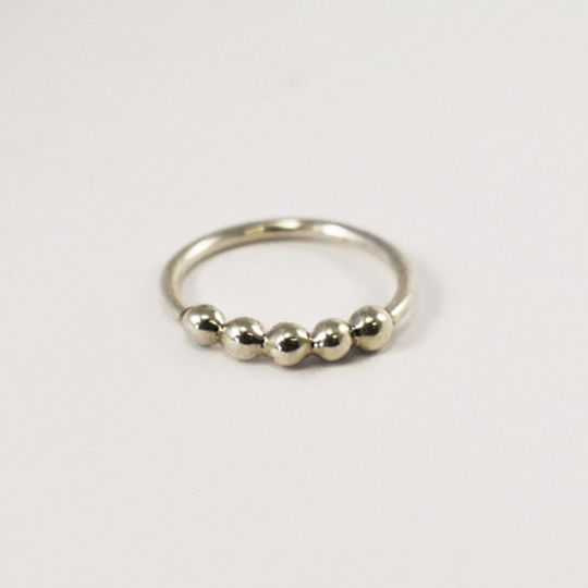 Five Bobble Urchie Stacking Ring