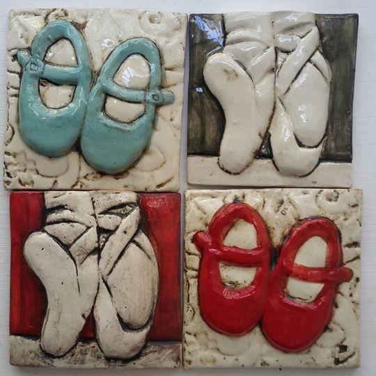 Tile,  Shoes