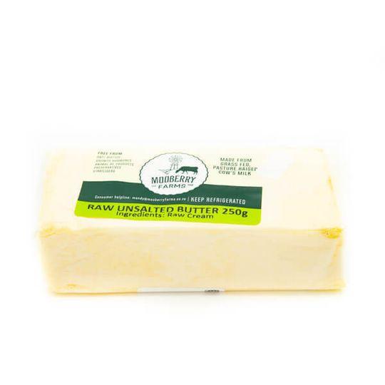 Raw Unsalted Butter (250g)