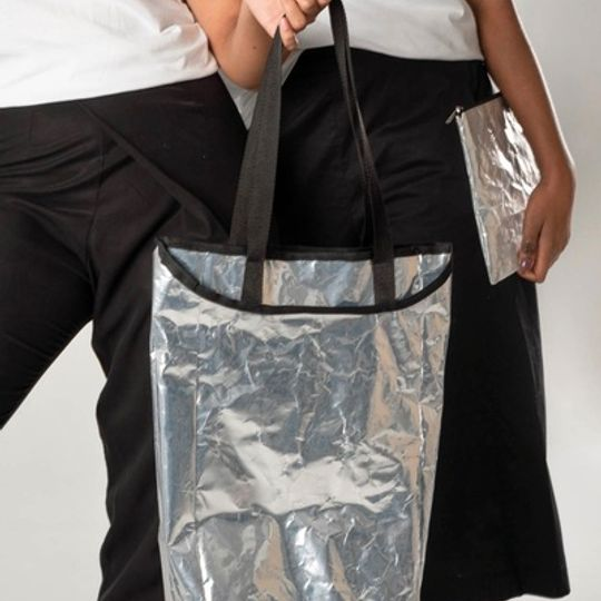 recycled silver bags
