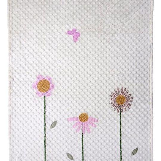 Blanket / Girls - Flowers - M0058