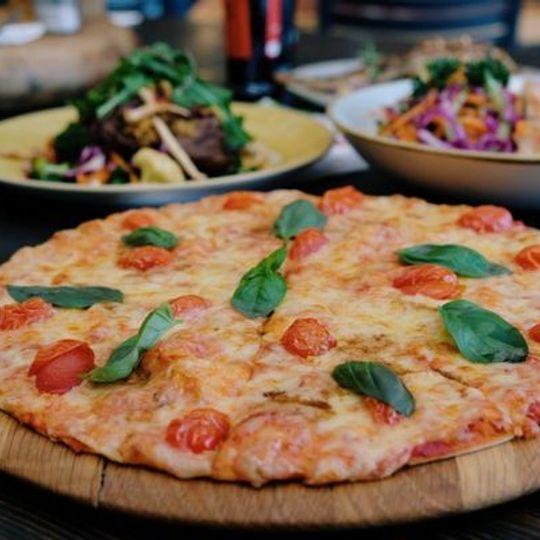 The Italian Flag Pizza
