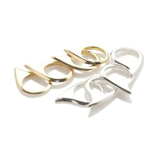 Shark Tooth Rings