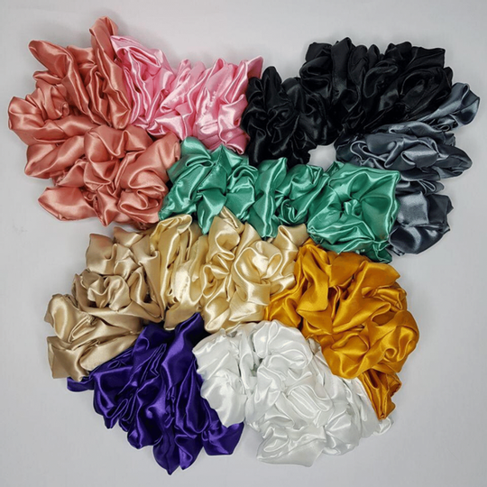 Satin Scrunchies (Large)