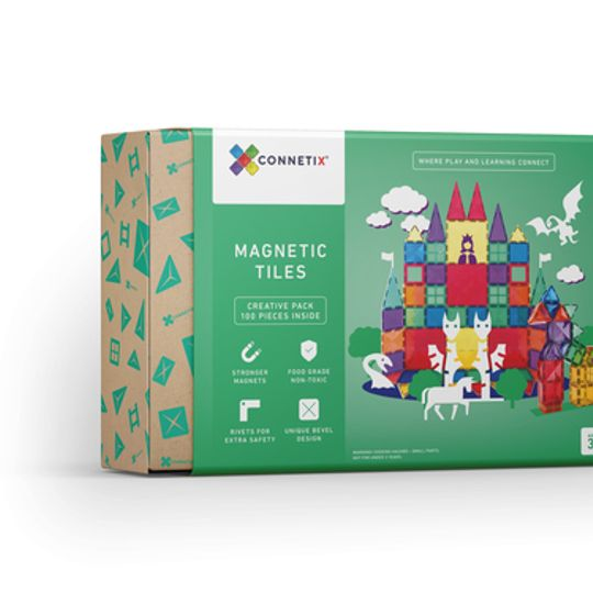 Connetix Tiles 100 pieces