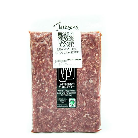 Grass-Fed Lean Mince (500g)