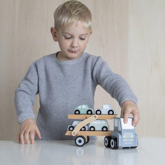 Little Dutch Wooden Transporter