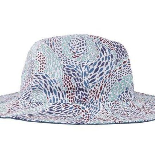Hat / Boys - Blue Fish Swirl - M0314