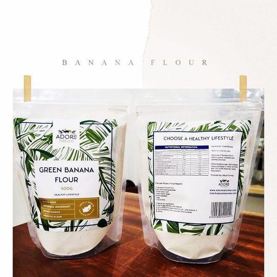 Green Banana Flour (500g)