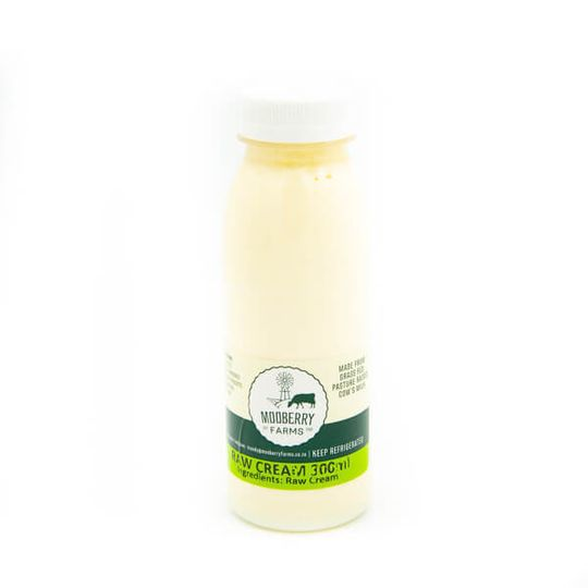 Organic Raw Cream (300ml)