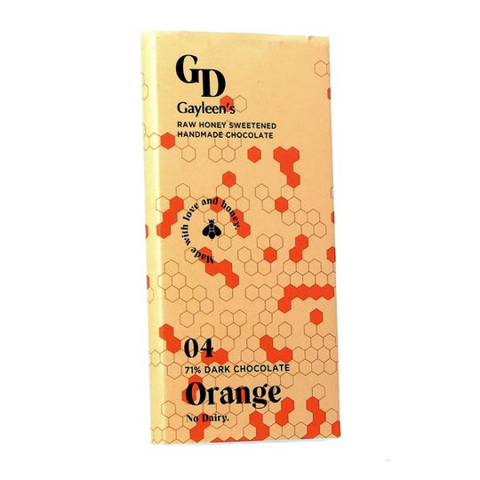 GD New Orange chocolate slab