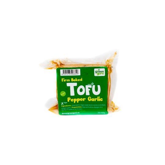 Tofu - Pepper and  Garlic (Block)