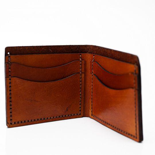Bi-Fold wallet -  Tan