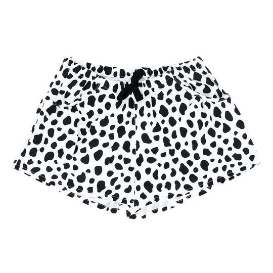 Girls Short Pants - Pockets Cow (Cotton Knit)