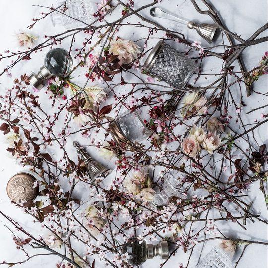 WS Napkins - Blushing Bloom