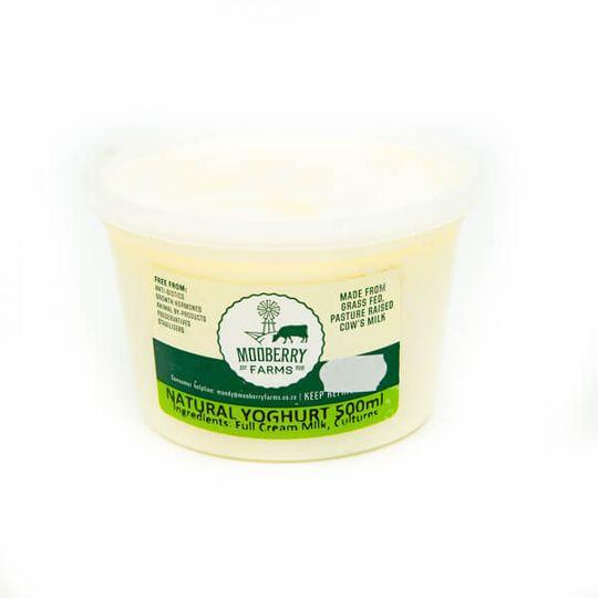 Natural Yoghurt (500ml)