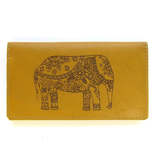 Clutch Purse - Decorated Elephant