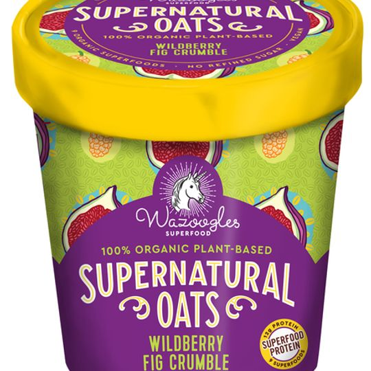 Wazoogles Supernatural Oats - Wild Berry Fig Crumble pot