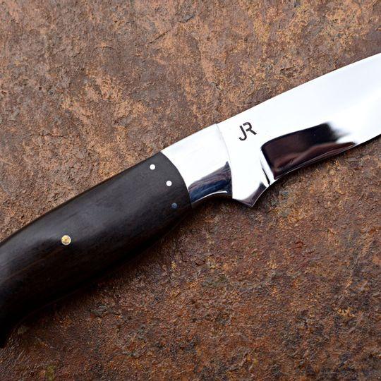 Handmade Custom Knife | Stainless Steel & Chacate